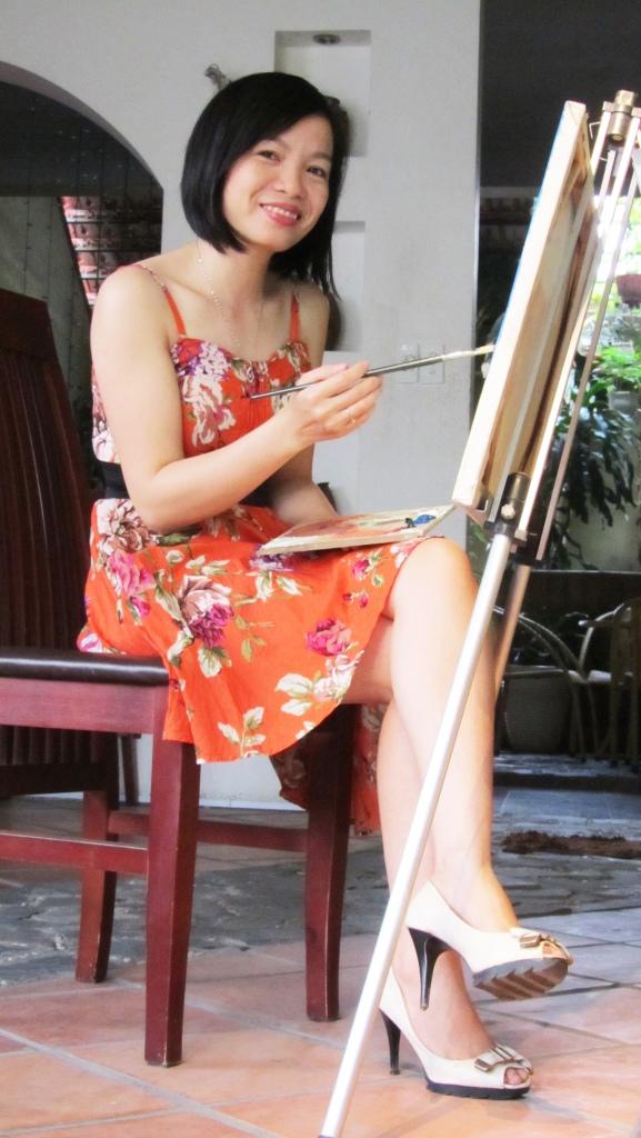 3 Han thi Hai Yen - lop ve OS 2