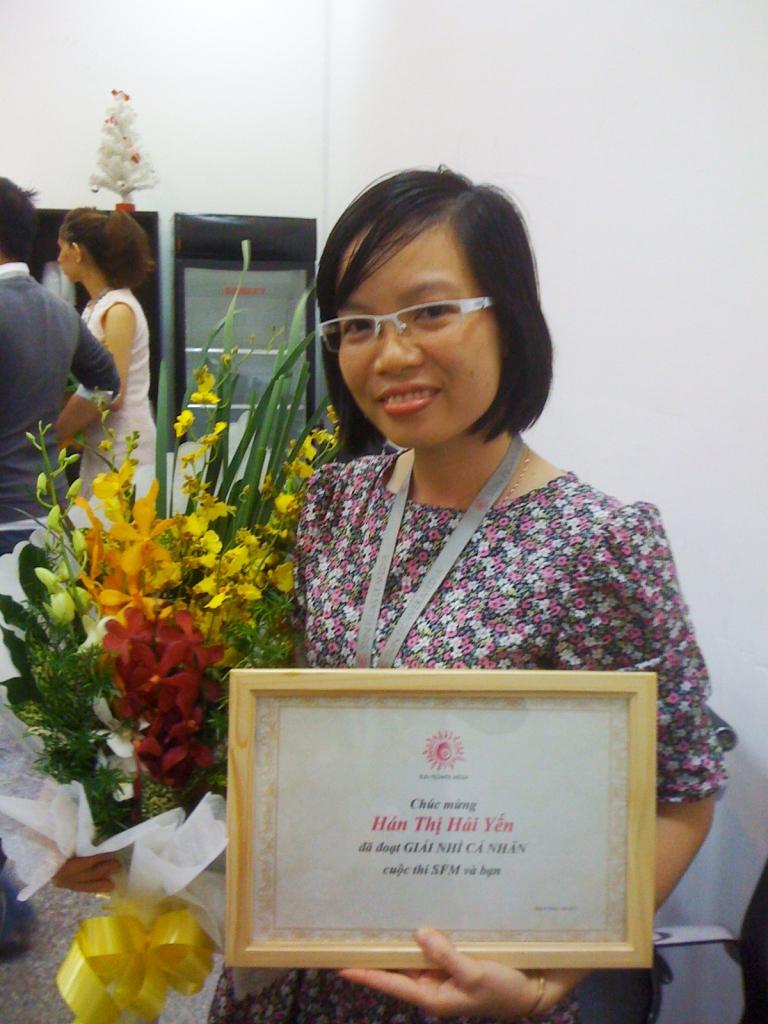 9 Han thi Hai Yen - lop ve OS 2