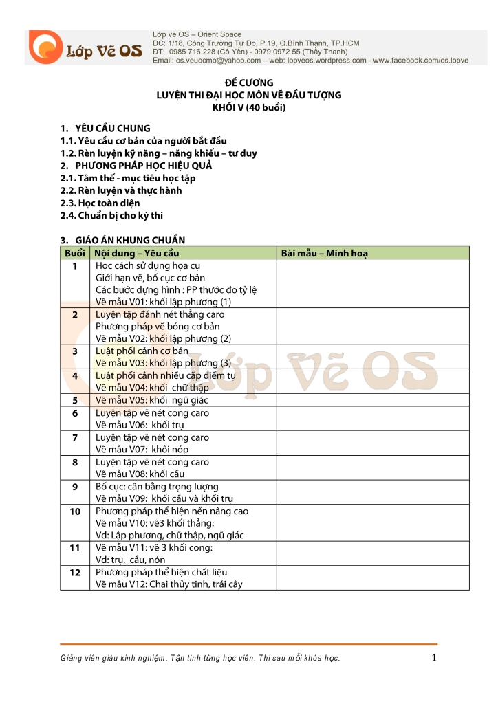 De cuong - Ve dau tuong - khoi V- Lop ve OS - 40buoi cap toc_001